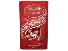 Saldainiai Lindt Lindor pieninio šokolado rutuliukai 200 g