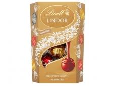 Saldainiai Lindt Lindor šokolado rutuliukų rinkinys 200 g