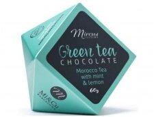 Saldainiai Teatime Žalioji Maroko arbata 60 g