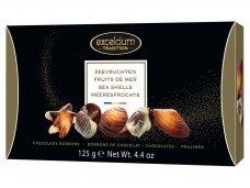 Saldainių rinkinys Exelcium jūros kriaukleliai 125 g