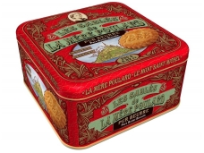 Sausainiai La Mere Poulard sviestiniai su šokolado gabaliukais 250 g