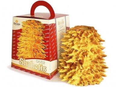 Šakotis Naujiena su dėžute 1 kg