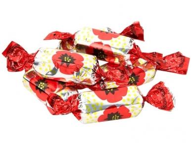 Saldainiai Raudonoji aguona 1 kg
