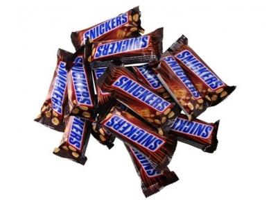 Saldainiai Snickers 1 kg