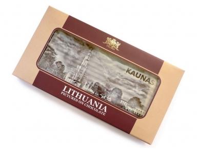Šokoladas plytelė su 3D vaizdu (Kaunas) 150 g