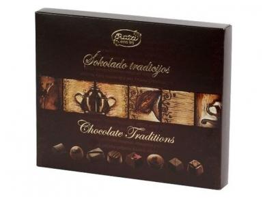 Saldainiai Šokolado tradicijos 220 g