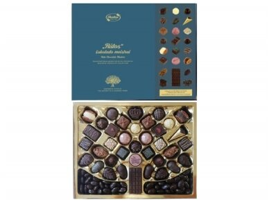 Saldainių kolekcija Šimtmečio istorija 550 g 2