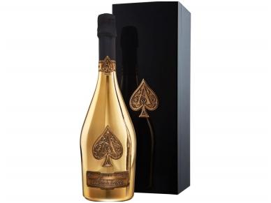 Šampanas Armand de Brignac Brut Gold su dėž. 0,75 l