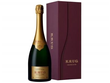 Šampanas KRUG Grande Cuvee su dėž. 0,75 l