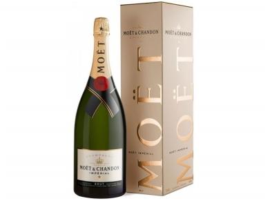Šampanas Moet Brut Imperial Magnum su dėž. 1,5 l