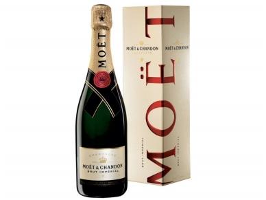 Šampanas Moet Brut Imperial su dėž. 0,75 l