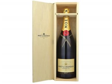 Šampanas Moet Brut Imperial su dėž. 6 l