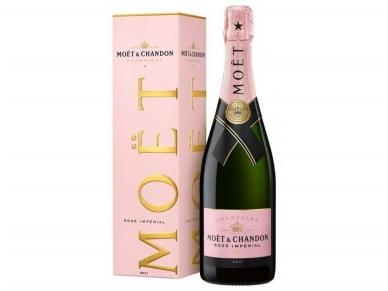 Šampanas Moet Imperial Rose Champagne su dėž. 0,75 l