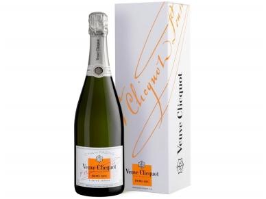 Šampanas Veuve Clicquot demi sec su dėž. 0,75 l