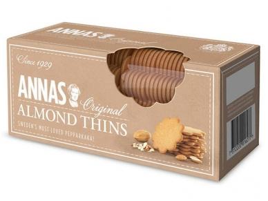 Sausainiai ANNAS imbieriniai migdolų skonio 150 g