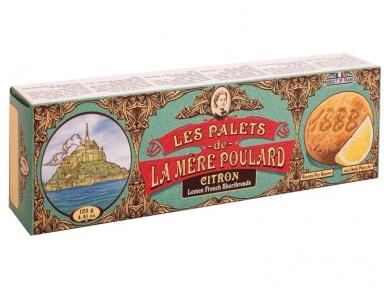 Sausainiai La Mere Poulard trapūs citrininiai sviestiniai 125 g