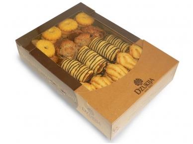 Sausainiai Šventinis sausainių rinkinys 1 kg