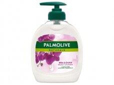 Skystas muilas Palmolive Milk & Orchid Pump 300 ml