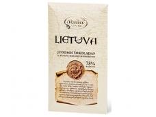 Šokoladas juodasis Lietuva 90 g