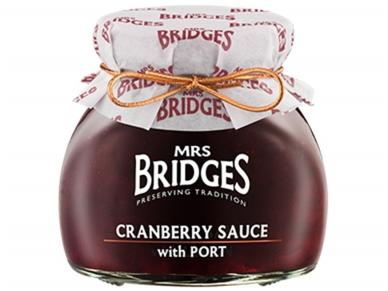 Mrs Bridges Spanguolių padažas su porto vynu 250 g