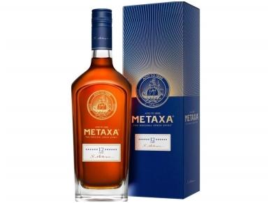 Spiritinis gėrimas Metaxa 12* su dėž. 0,7 l