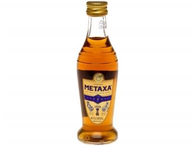 Spiritinis gėrimas Metaxa 7* 0,05 l mini