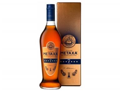 Spiritinis gėrimas Metaxa 7* su dėž. 0,7 l
