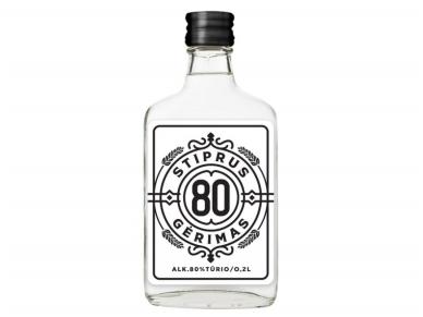 Spiritinis gėrimas Stiprus 80 0,2 l
