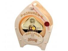 Sūris Džiugas lagamino formos medinėje dėž. 4,2 kg
