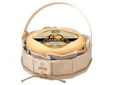 Sūris Džiugas medinėje dėž. 4,2 kg