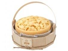 Sūris Džiugas skaptuotas medinėje dėž. 3,5 kg