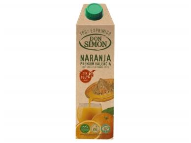 Sultys Don Simon Premium Apelsinų su minkštimu 100 % 1 l