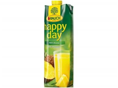 Sultys Happy Day ananasų 100 % 1 l
