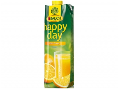 Sultys Happy Day apelsinų 100 % 1 l