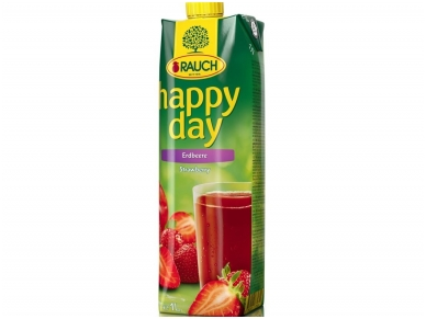 Sultys Happy Day braškių nektaras 1 l