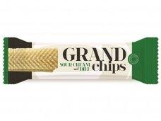 Traškučiai Grand Chips grietinėlės ir prieskoninių žolelių skonio 90 g