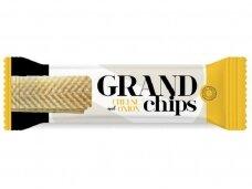 Traškučiai Grand Chips sūrio ir svogūnų skonio 90 g