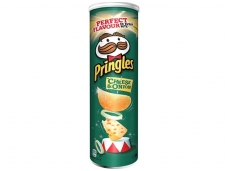 Traškučiai Pringles Cheese & Onion 165 g