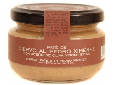 Užtepėlė La Chinata elnienos užtepėlė su Pedro Ximenez vynu 120 g