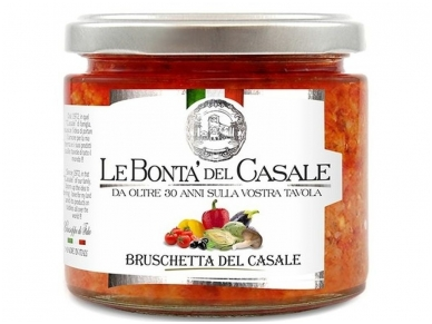 Užtepėlė Le Bonta del Casale Daržovių 212 ml