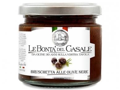 Užtepėlė Le Bonta del Casale Juodų alyvuogių 212 ml