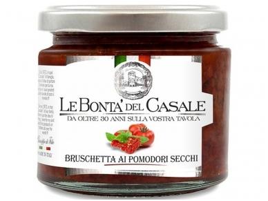 Užtepėlė Le Bonta del Casale Saulėje džiovintų pomidorų 212 ml
