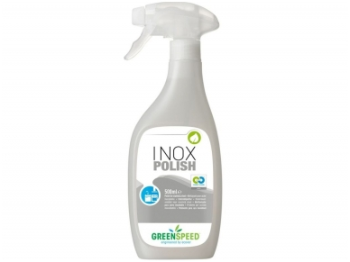 Valiklis polirolis Greenspeed Inox Polish 500 ml