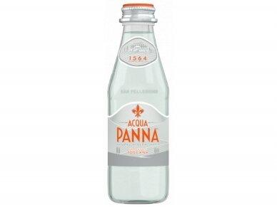 Vanduo Acqua Panna stikle negaz. 0,25 l
