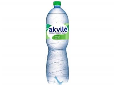 Vanduo Akvilė pet lengvai gaz. 1,5 l