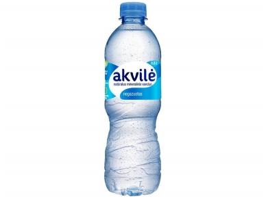 Vanduo Akvilė pet negaz. 0,5 l