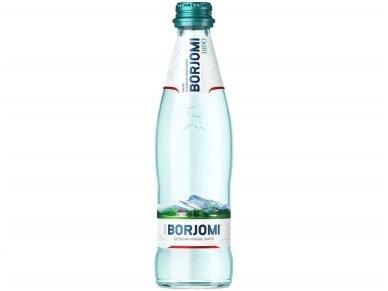 Vanduo BORJOMI stikle gaz. 0,33 l