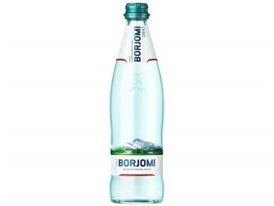 Vanduo BORJOMI stikle gaz. 0,5 l