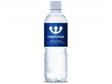 Vanduo Neptūnas pet negaz. 0,5 l