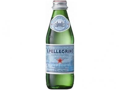 Vanduo S. Pellegrino stikle gaz. 0,25 l